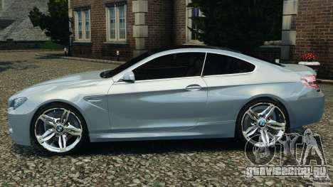 BMW M6 Coupe F12 2013 v1.0 для GTA 4 вид слева