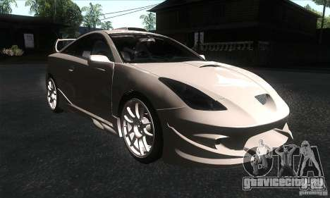 Toyota Celica-SS2 Tuning v1.1 для GTA San Andreas вид сзади