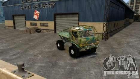 УАЗ Прототип Голиаф для GTA 4 вид сзади слева