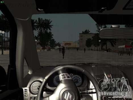 Suzuki SX4 Sportback 2011 для GTA San Andreas салон