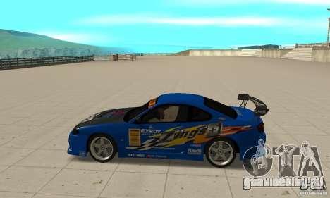 Nissan Silvia INGs +1 для GTA San Andreas вид слева