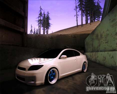 Scion tC Blue Meisters для GTA San Andreas