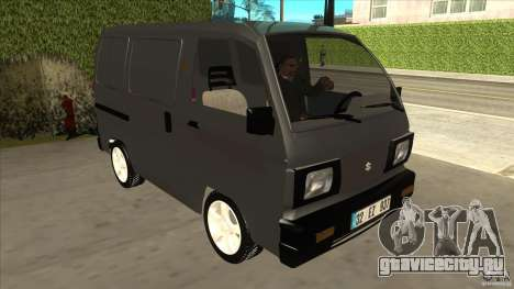Suzuki Carry Blind Van 1.3 1998 для GTA San Andreas вид сзади