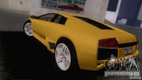 Lamborghini Murcielago LP640 2006 V1.0 для GTA San Andreas вид слева