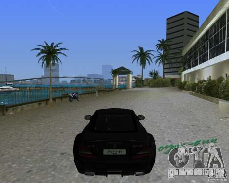 Mercedess Benz SL 65 AMG Black Series для GTA Vice City вид слева