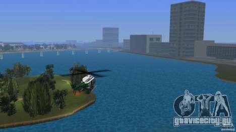 VCPD Chopper для GTA Vice City вид слева