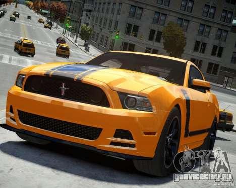 Ford Mustang Boss для GTA 4