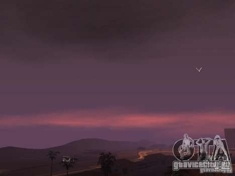 Timecyc - Purple Night v2.1 для GTA San Andreas