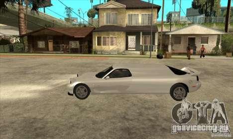 Mazda RX-7 Limousine для GTA San Andreas вид слева