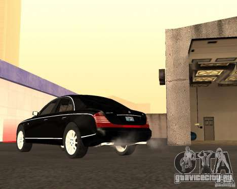 Maybach 57S для GTA San Andreas вид сбоку