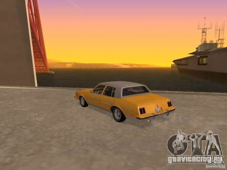Oldsmobile Cutlass v2 1985 для GTA San Andreas вид слева