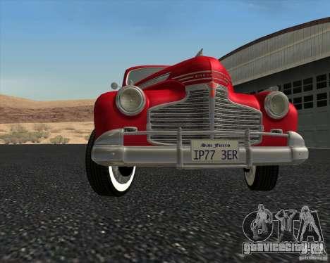 Chevrolet Special DeLuxe 1941 для GTA San Andreas вид сверху