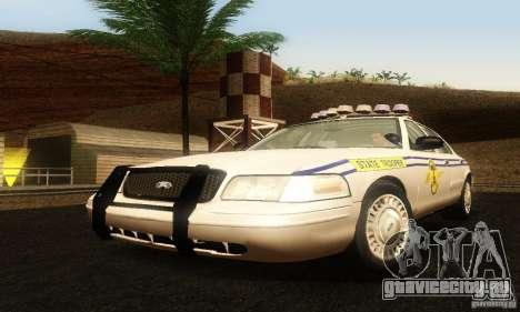 Ford Crown Victoria South Carolina Police для GTA San Andreas