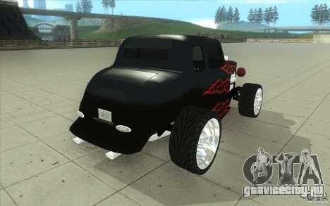 Ford Hot Rod 1934 v2 для GTA San Andreas вид сбоку
