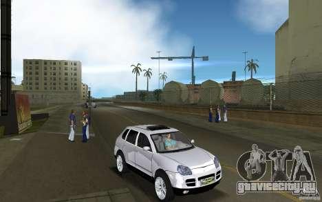 Porsche Cayenne для GTA Vice City вид сзади