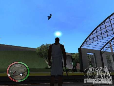 Дождь из людей для GTA San Andreas четвёртый скриншот