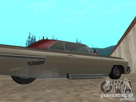 Voodoo из GTA 4 для GTA San Andreas вид сзади слева