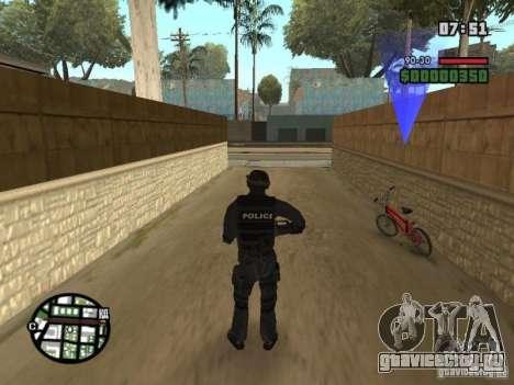Спецназовец из SWAT 4 для GTA San Andreas второй скриншот
