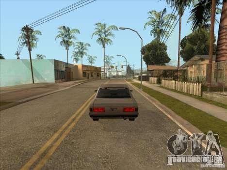 Плавное торможение авто для GTA San Andreas