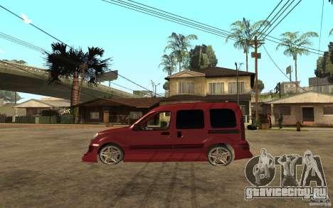 Renault Kangoo Tuning для GTA San Andreas вид слева