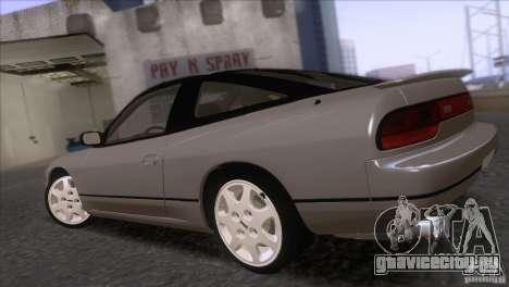 Nissan Sil80 для GTA San Andreas вид слева