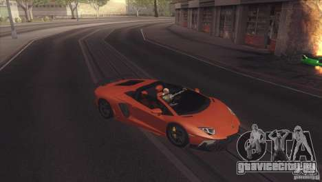 2013 Lamborghini Aventador LP700-4 Roadstar для GTA San Andreas