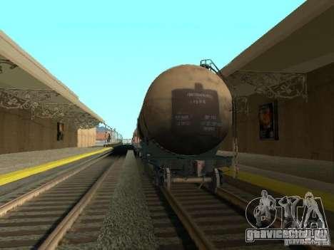 Цистерна №68Т 53911384 для GTA San Andreas вид сзади слева