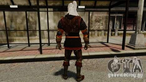 Геральт из Ривии v2 для GTA 4 третий скриншот