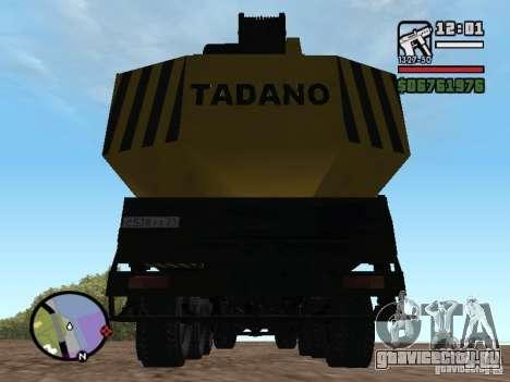 КрАЗ-250 MKAT-40 для GTA San Andreas вид изнутри
