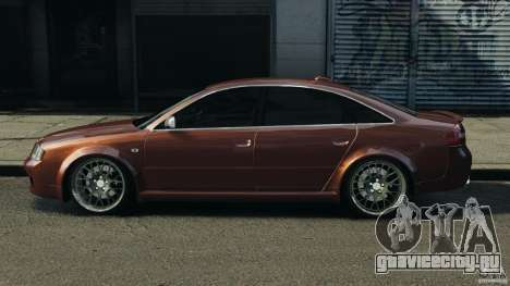 Audi RS6 2003 для GTA 4 вид слева