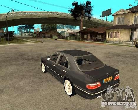 Mercedes–Benz E Class для GTA San Andreas вид слева