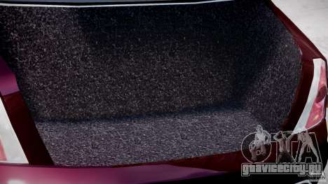 Maserati Quattroporte V для GTA 4 вид сверху