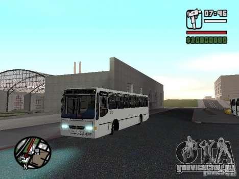 Busscar Urbanus SS Volvo B10M для GTA San Andreas