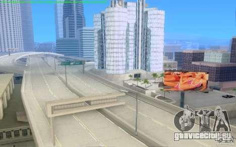 Бетонные дороги Лос-Сантос Beta для GTA San Andreas седьмой скриншот