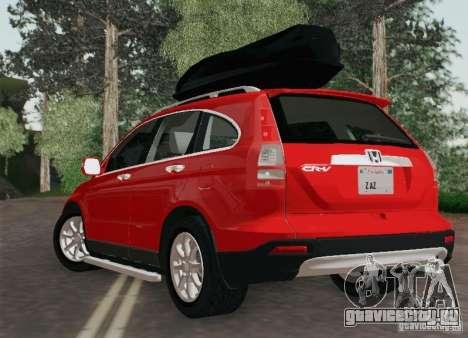 Honda CRV 2011 для GTA San Andreas вид слева