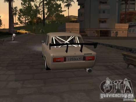 Ваз 2106 drift style для GTA San Andreas вид сзади слева
