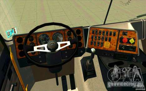 Navistar International 9800 для GTA San Andreas вид сзади