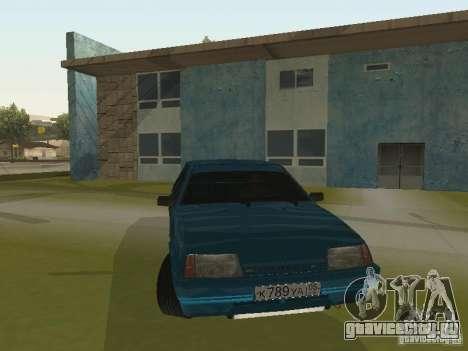 ВАЗ 21093 Tuning для GTA San Andreas вид сзади