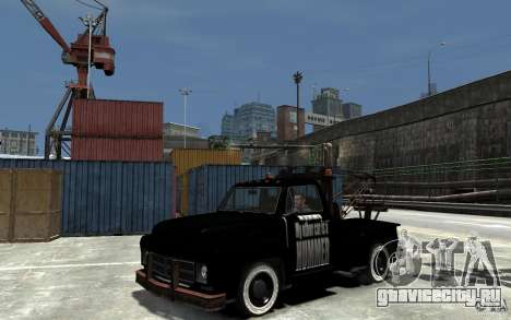 Black Towtruck для GTA 4
