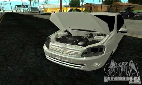 Lada 2190 Granta для GTA San Andreas вид сбоку