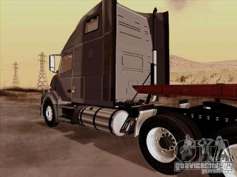 Volvo VNL 670 для GTA San Andreas вид сзади