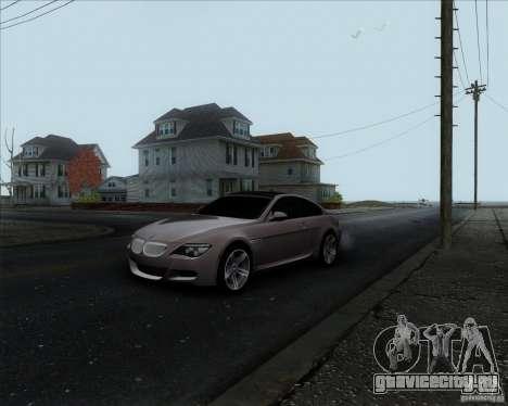 BMW 6 Series M для GTA San Andreas