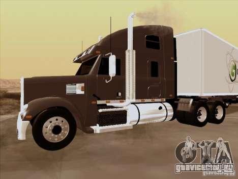 Freightliner Coronado для GTA San Andreas вид слева