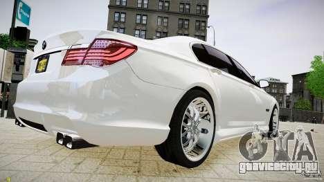 BMW 750Li Sedan ASANTI для GTA 4 вид слева
