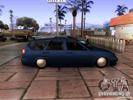 Lada Priora Универсал для GTA San Andreas вид слева