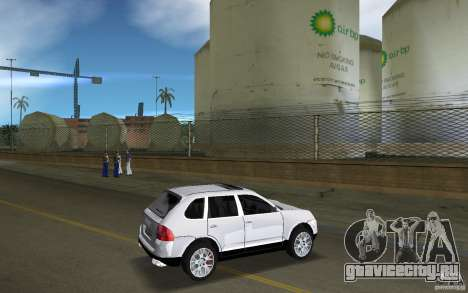 Porsche Cayenne для GTA Vice City вид справа