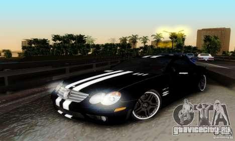 Mercedes Benz SL 65 AMG для GTA San Andreas вид сбоку