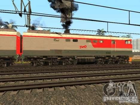 2ТЭ116 0013 РЖД для GTA San Andreas вид слева