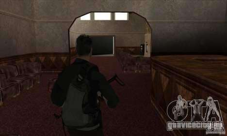 Sam Fisher для GTA San Andreas восьмой скриншот