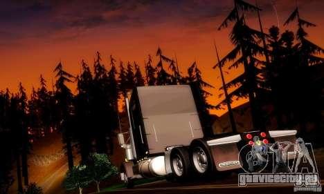 Freightliner Classic XL для GTA San Andreas вид сзади слева